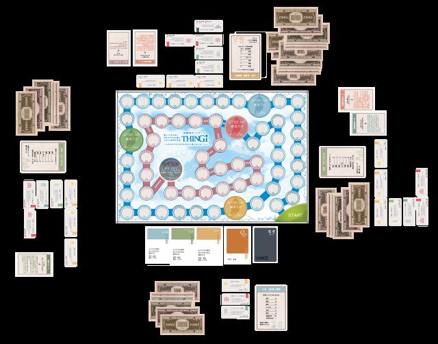体験型ボードゲーム「THINGi」ゲーム会イメージ